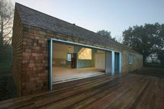 Clean lines and shingle siding ~ Modern Home