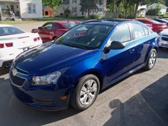 2012 Chevy Cruze in Blue Topaz. What I drive right now.