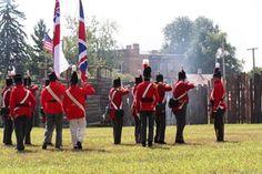 British start their attack on Fort Stephenson
