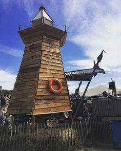 Lighthouse Stage at surfana Festival  Decorbouw