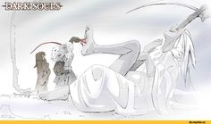 DS персонажи,Dark Souls,фэндомы,Crossbreed Priscilla,PawFeather