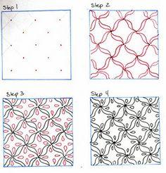 U. N. Owen - Zentangle Pattern