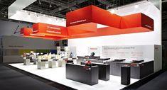 Fischer | Bau Munich 2013| Totems Communication & Architecture