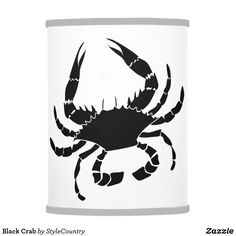 Black Crab Table Lamp