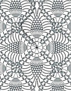 Tina's handicraft : pineapple crochet stitch shirt