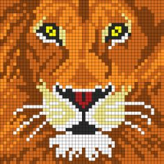 Lion For Perler