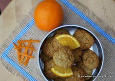 Owsiane ciasteczka z nutką pomarańczy w wersji light