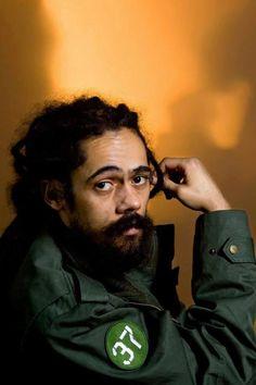 """Damian """"Jr. Gong"""" Marley. :) Brilliant photo, I think."""