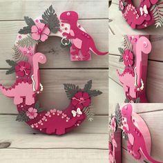 Birthday decorations pink project nursery Ideas for 2019 Girl Dinosaur Birthday, Dinosaur Party, Baby Birthday, Dinosaur Age, Dinosaur Crafts, Third Birthday, 3rd Birthday Parties, Birthday Party Decorations, Birthday Ideas