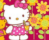 Hello Kitty With Teddy Bear