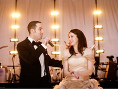 A sweet moment at #CeciBride Jacey's wedding. The #groom sang to her!