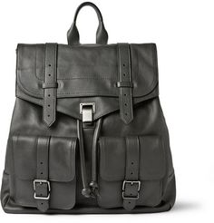 Proenza Schouler PS1 Extra Large Leather Backpack