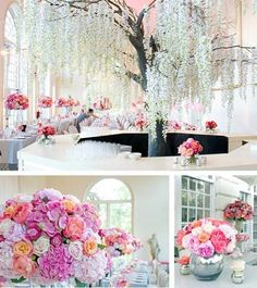 So pretty #weddings #receptions #pink #events