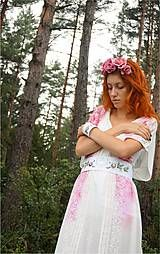 Šaty - maľované šaty ...folk medovníkové :) - 7171839_