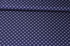 Baumwolle gemustert - MARINE Steuerrad Marine | Snaply