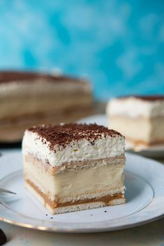 Pin On, Polish Recipes, Healthy Desserts, Tiramisu, Sweet Tooth, Cheesecake, Food And Drink, Cookies, Eat