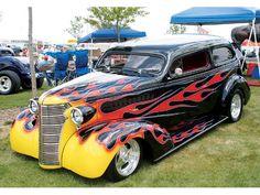 Custom Hot Rods | Goodguys 11Th Annual Hot Rod Custom Car Nationals 36 Chevy Photo 13