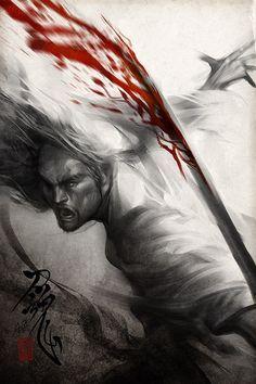 paxtonfearless:   Samurai Spirit 6by`Artgerm