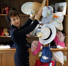Everybody needs a chic sun hat for the beach!  Sandpiper Boutique at the Madison Beach Hotel