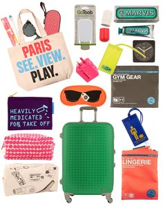 Travel essentials via it's like this my road trip, packing list for tr Packing List For Travel, Packing Tips, Travel Tips, Travel Hacks, Travel Bag, Beach Trip, Vacation Trips, Beach Road, Family Vacations