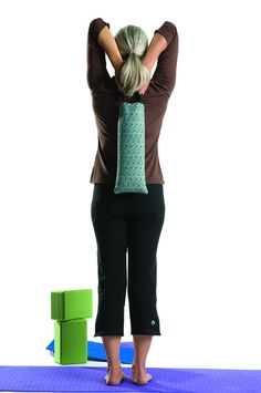 Our 10-pound Sandbags help you deepen your poses with extra weight.