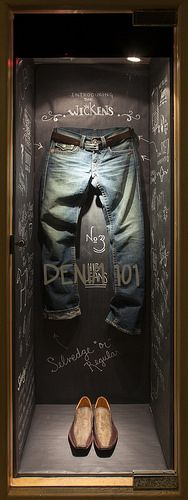 Menswear Window Display 2014, Visual Merchandising Arts. The School of Fashion at Seneca College.