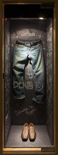 Menswear Window Display