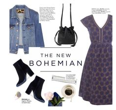 """""""The new bohemian"""" by punnky ❤ liked on Polyvore featuring Acne Studios, American Eagle Outfitters, Gianvito Rossi, Haute Hippie and Creative Works"""