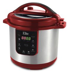 Platinum 8-Quart Electric Stainless Steel Pressure Cooker