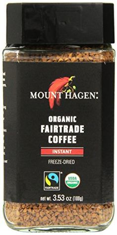3799af5ad75b Amazon.com   Mount Hagen Freeze Dried Instant Coffee- 3.53 Oz Jars- 2 Pack    Organic Coffee Instant   Grocery   Gourmet Food