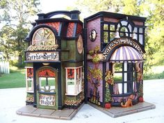 Miniature Halloween  Witch's Shops Dollouse