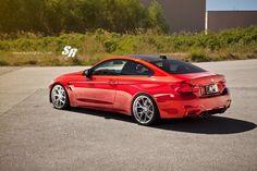 BMW M4 on PUR Wheels