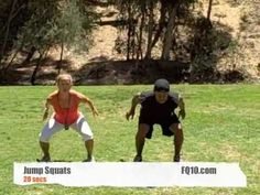 Boot Camp Blast Workout with Anna Renderer!