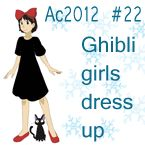 This is another dress up game from Hapuriainen where you can dress up studio Ghibli girls like Kiki,san,Arietty,Ponyo,Nausicaa,sophie,sheeta and many more :)   Check out *Hapuriainen's other dress up games!