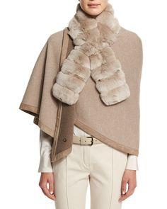 ea7dd98f93 D12M8 Loro Piana Chinchilla Fur Accessory Collar