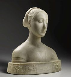 Portrait of a Woman -  Francesco Laurana - 1470s Marble, traces of pigment, height: 47 cm Frick Collection, New York