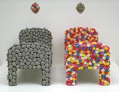 Judy Darragh, Bed of Roses/Bed of Rocks mixed media. Sculpture Art, Alaska, Sculpting, Mixed Media, Rocks, Students, Artists, Pop, Furniture