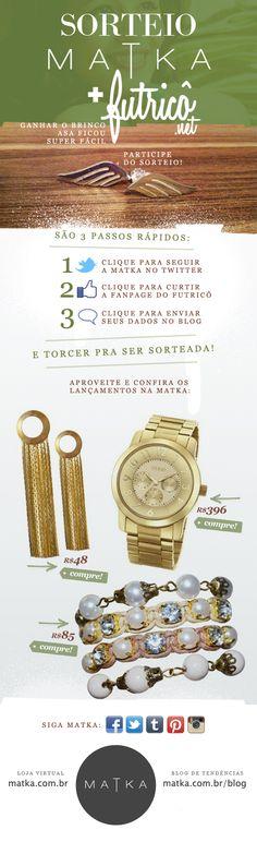 Newsletter Matka - Assine para receber novidades sobre nossos acessórios únicos www.matka.com.br