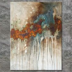 Annette Freymuth nettis-art square rust picture material picture with structure from . - Annette Freymuth nettis-art square rust picture material picture with structure from marble flour r - Art Marron, Rust Paint, Marble Painting, Acrylic Art, Light Art, Painting Techniques, Painting Inspiration, Modern Art, Art Projects