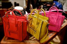 These Celine bags...delicious
