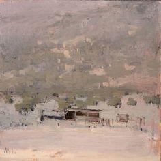 Michael Workman Juniper_hillside_with_old_sheds
