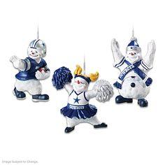 Dallas Cowboys Coolest Fans Ornament Collection