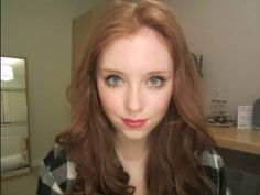 Jess D'Arcy. LUV her makeup tutorials. I highly recommend following her on YouTube.  Amy Pond Tutorial (Hair and Makeup) - YouTube