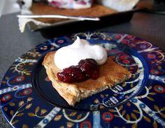 Puolitiessä: Gluteeniton ja vegaaninen pannukakku