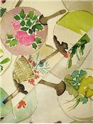 Watercolor Fabric - Mia Multi