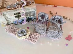 Cute espadrilles with assorted headband.