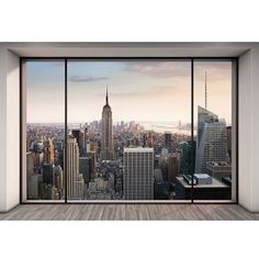 Wallpops 'Penthouse' Wall Mural (165 CAD) ❤ liked on Polyvore