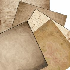 Instant Download  Old Tattered Paper Pack    Printable