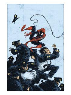 Marvel Adventures Spider-Man #55 Cover: Spider-Man Premium Poster