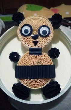 Panda - corrugated paper